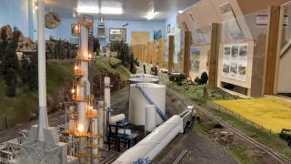Huge model train set draws crowds at Montana State Fair