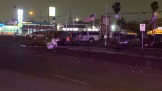 Early morning crash might affect your commute