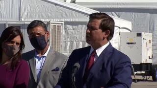 Gov. Ron DeSantis says national championship game won't disrupt vaccinations at Hard Rock Stadium site