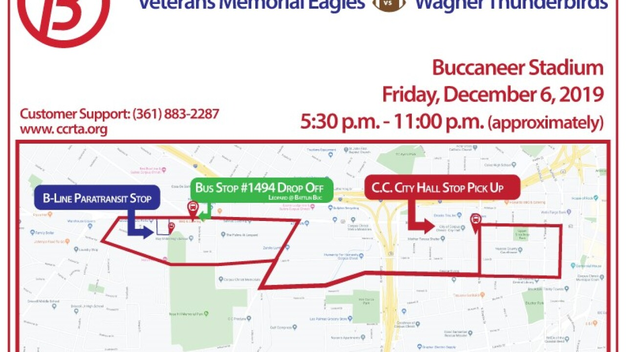 RTA providing free shuttle rides to Vets-Wagner game