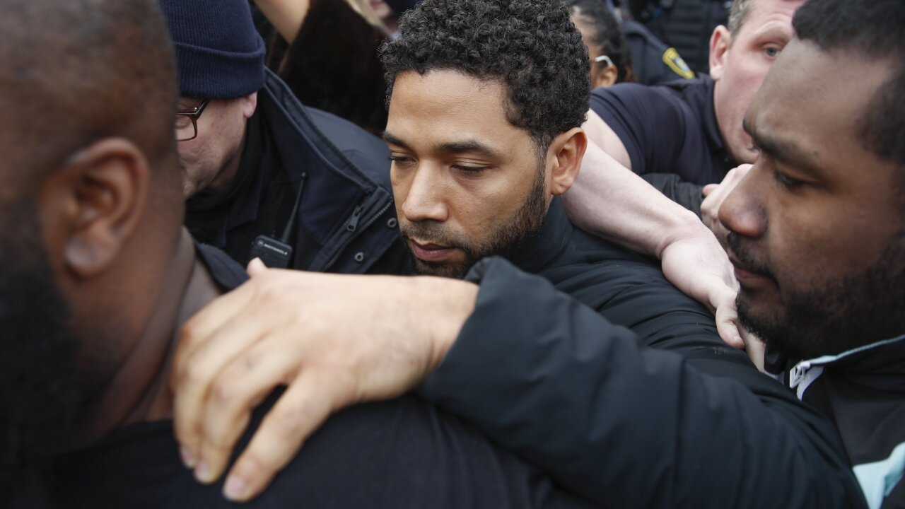 Grand jury indicts 'Empire' actor Jussie Smollett on 16 federal counts