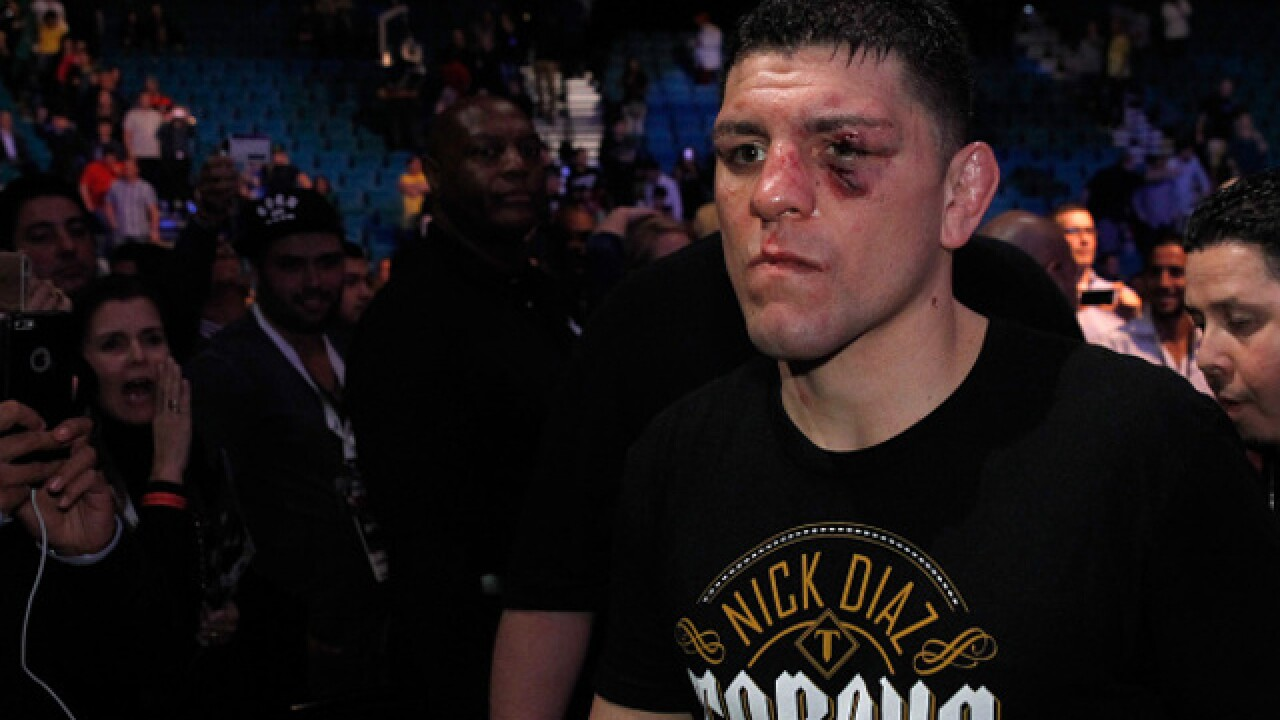 UFC's Nick Diaz reportedly arrested in Las Vegas for domestic violence