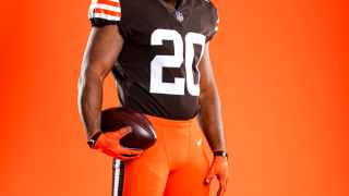 Browns orange pants