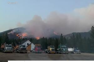 Thorne Creek fire update - 7/28
