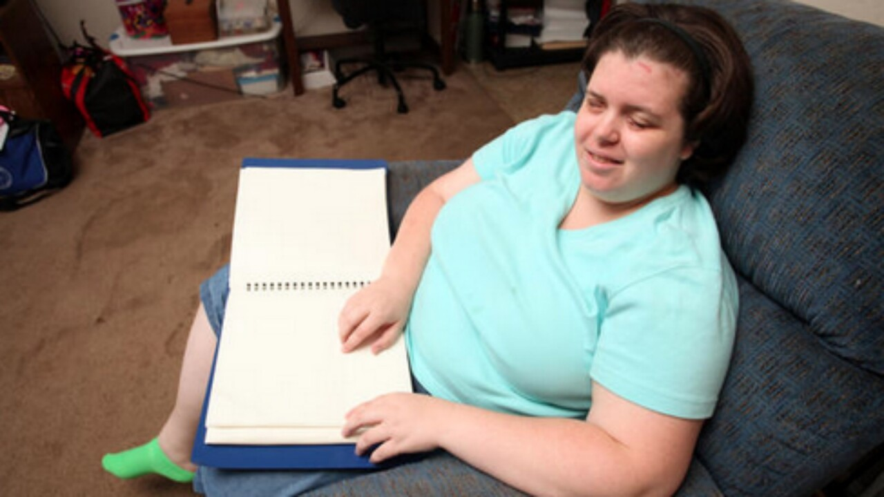 Woman says she's happier than ever after fulfilling lifelong dream of being blind