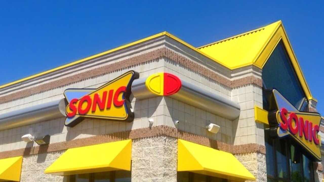 Shakes are half-price at Sonic today only