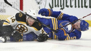Ristolainen and Sabres lose their fifth game of year to Bruins