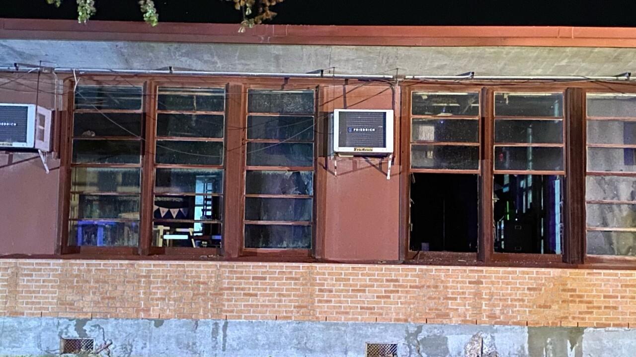 Hamlin Middle School fire