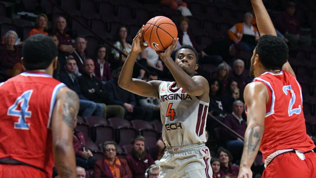 Hokies men's hoops sets school record and ACC record in victory over Delaware State