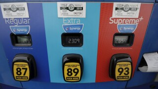 The national average for a gallon of gas dips below $2 for the first time since 2016, AAA says