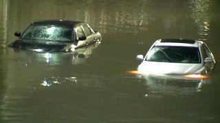 Cars submerged_flooding