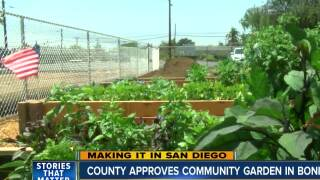 County approves community garden in Bonita