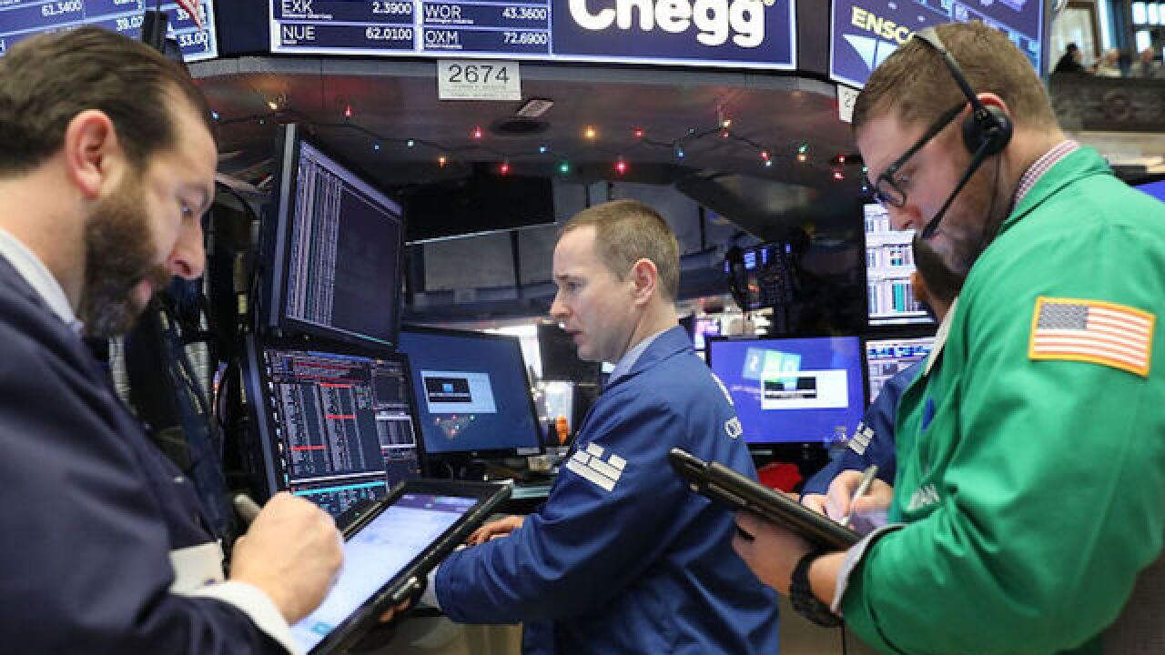 Dow poised for best year since 2013