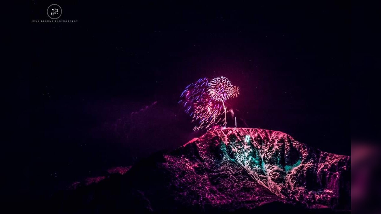 New Years Eve Fireworks on Pikes Peak from June Blooms Photography 2.jpg