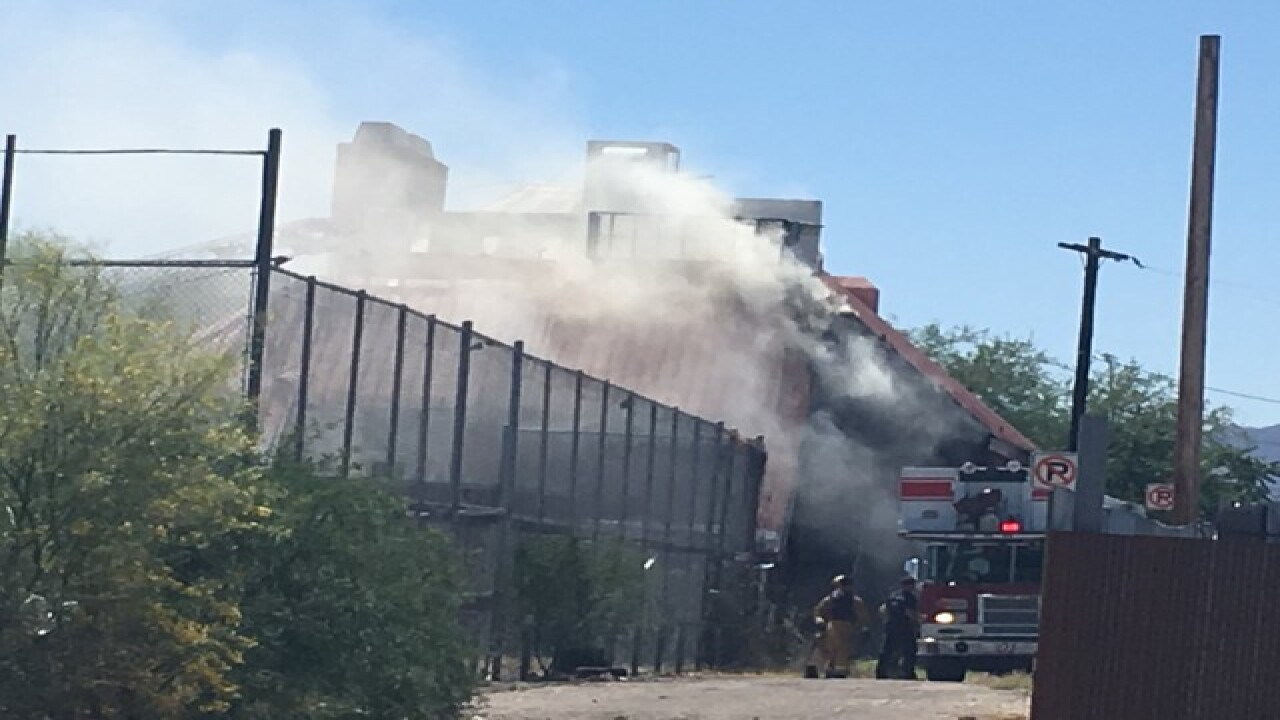 Former Bum Steer restaurant catches fire