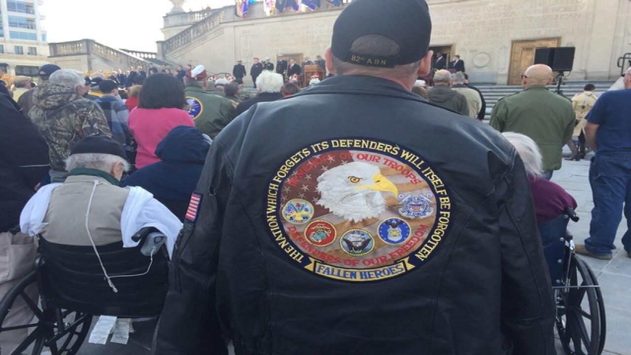 PHOTOS: Veterans Day parade, memorial service