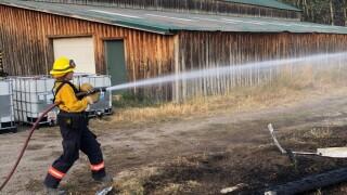 Bridger Foothills Fire sees slight growth since Sunday night