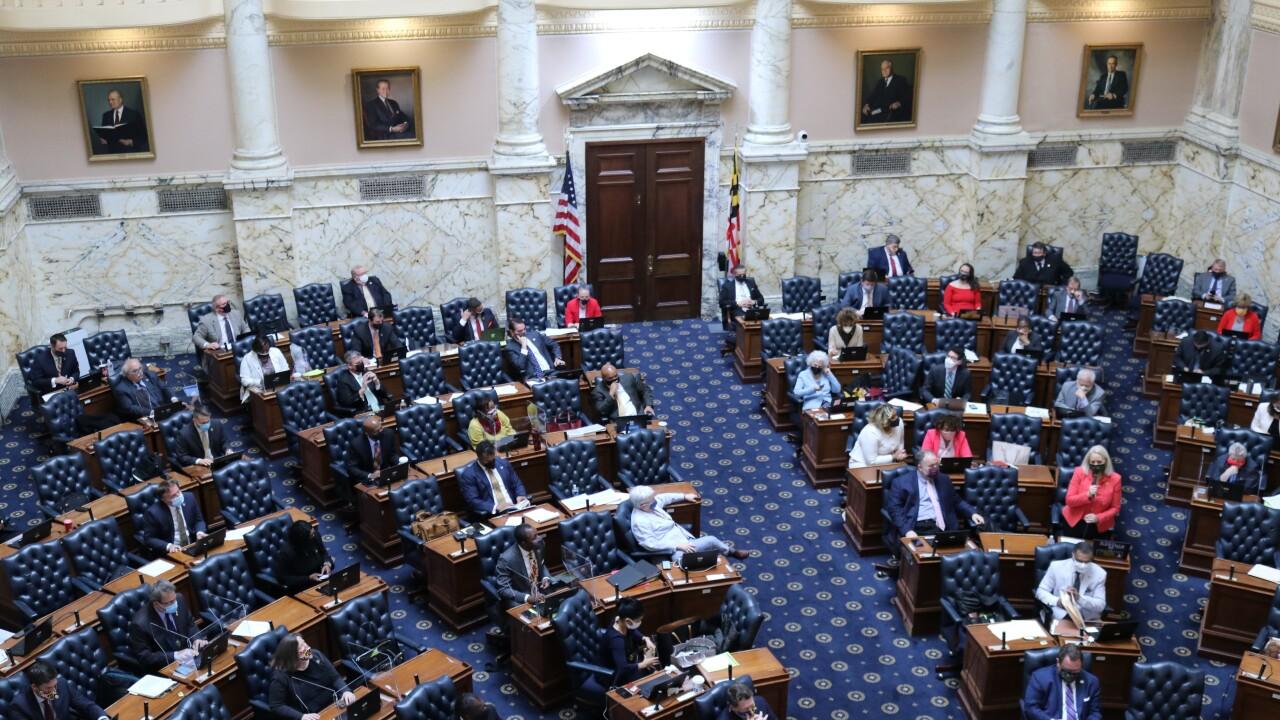 Maryland Legislature-Session Ends