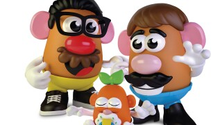 Mr Potato Head Rebranding