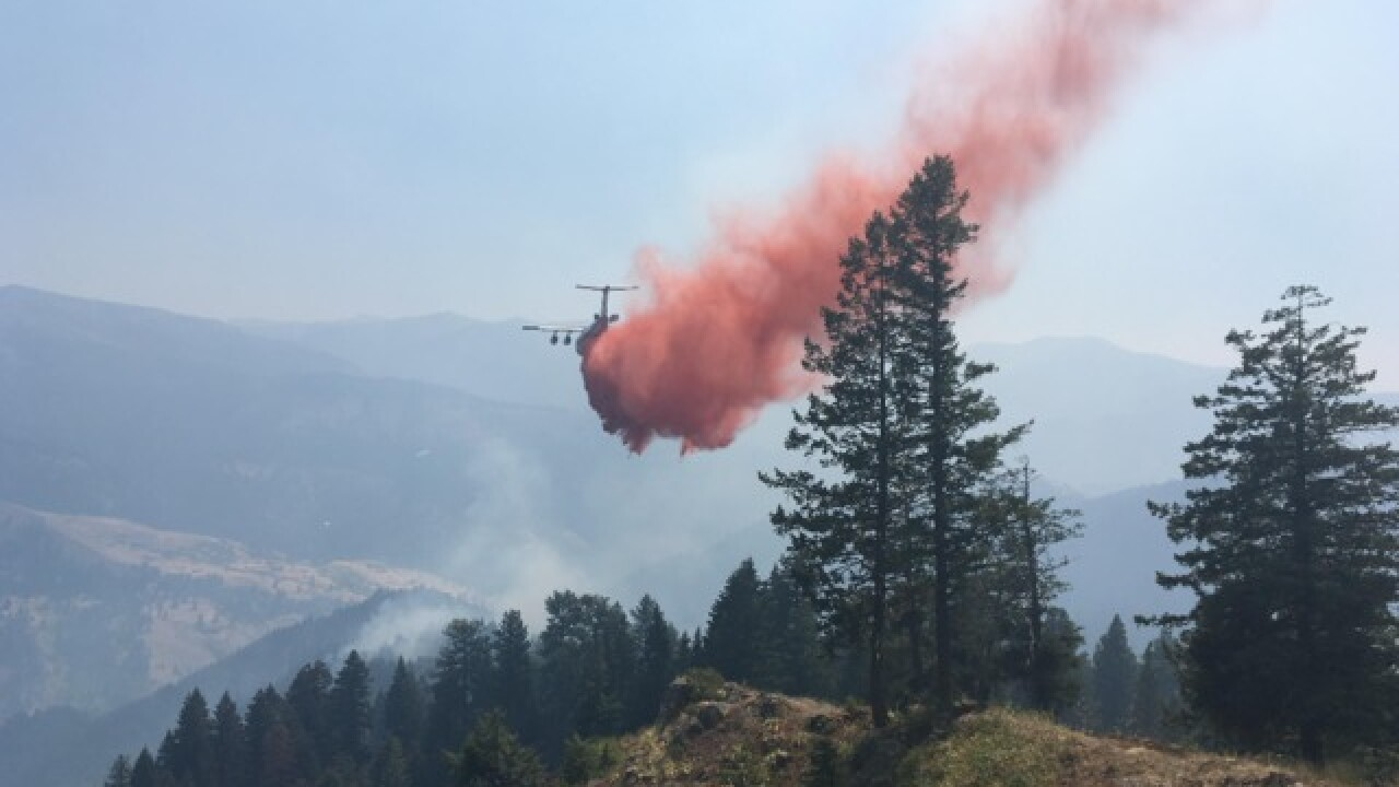 Rain helped, but properties still threatened by wildfire near Riggins