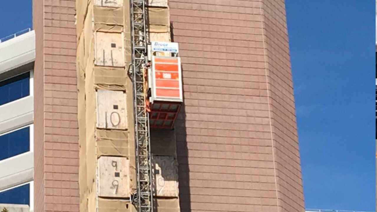 Worker killed in elevator shaft at Centennial hospital construction