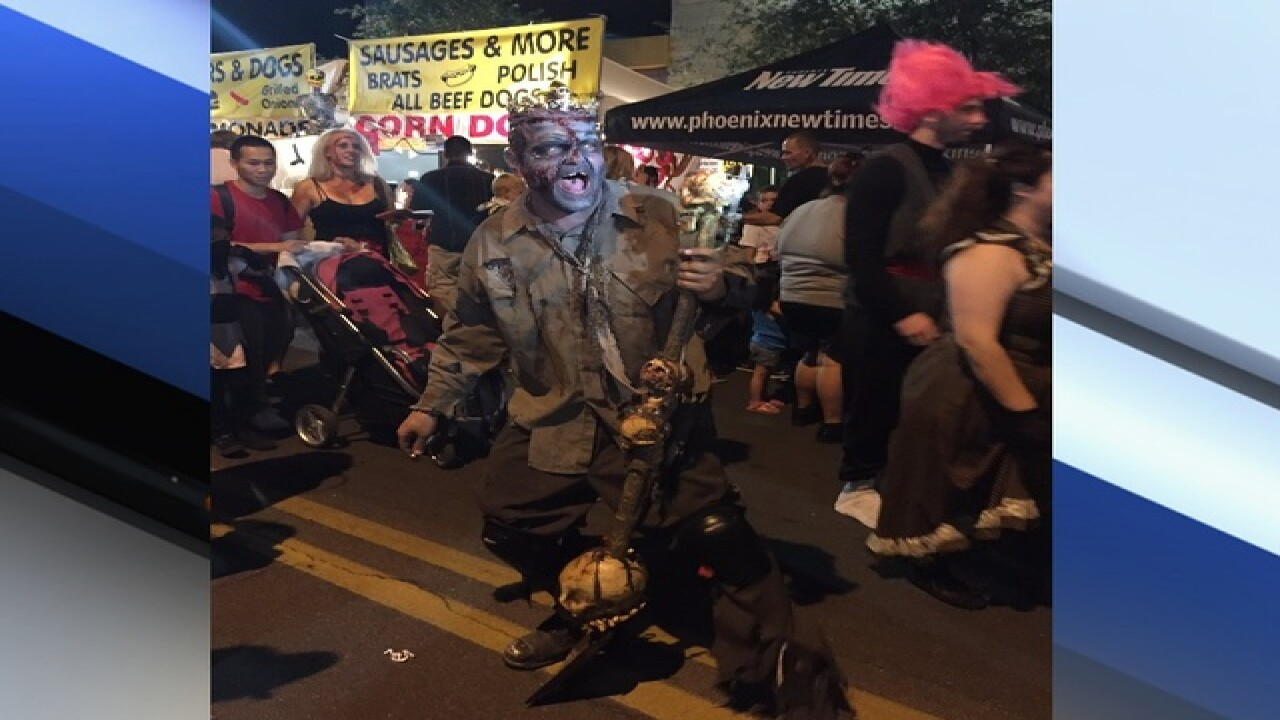 8th annual Zombie Walk in downtown PHX