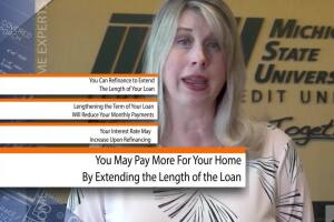 Increasing term of your mortgage