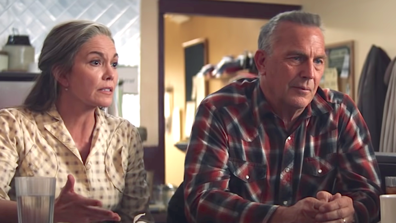 "Diane Lane and Kevin Costner star in ""Let Him Go.'"