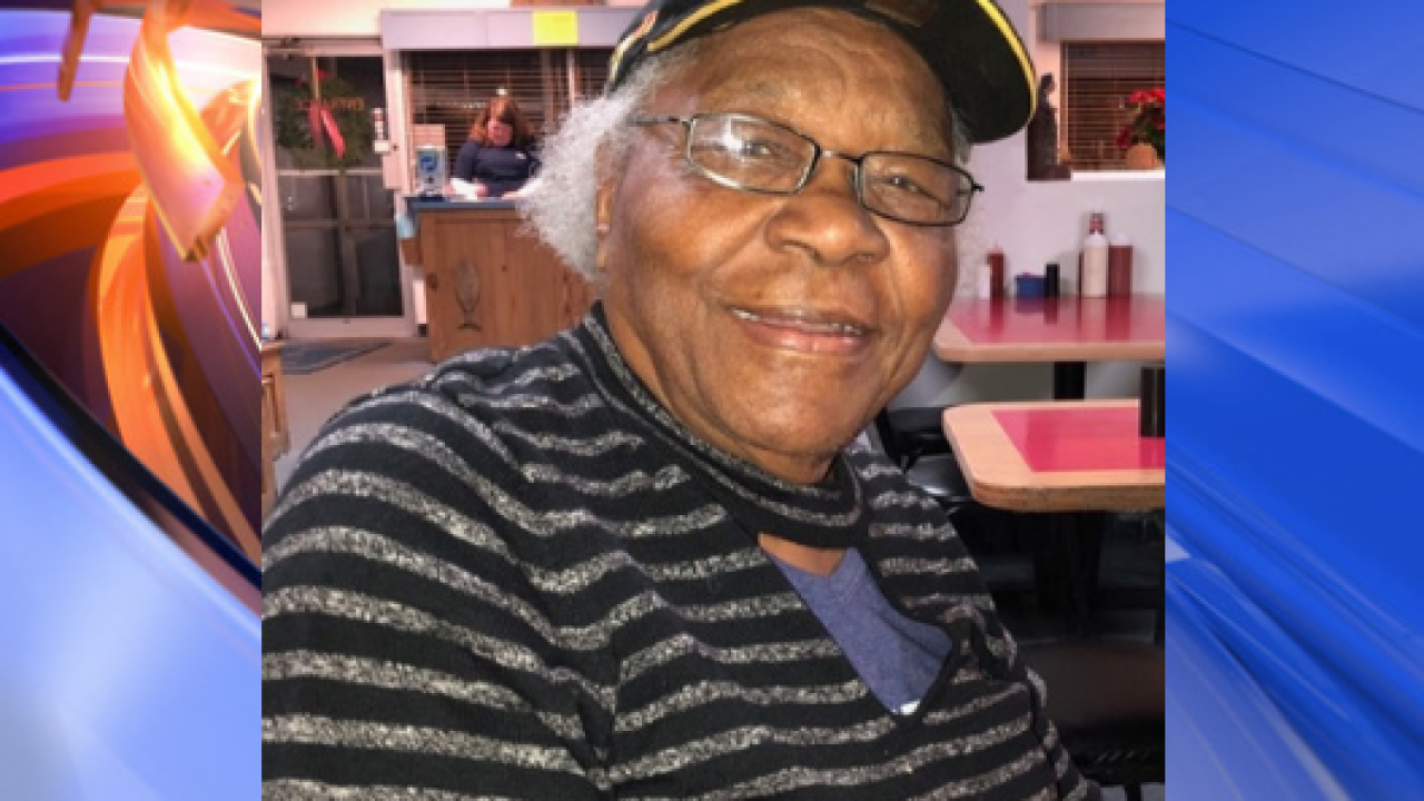 North Carolina police find missing elderly woman