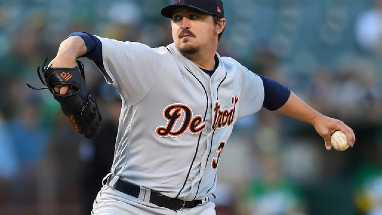 Tigers starter Blaine Hardy flirts with no-hitter, proud of outing