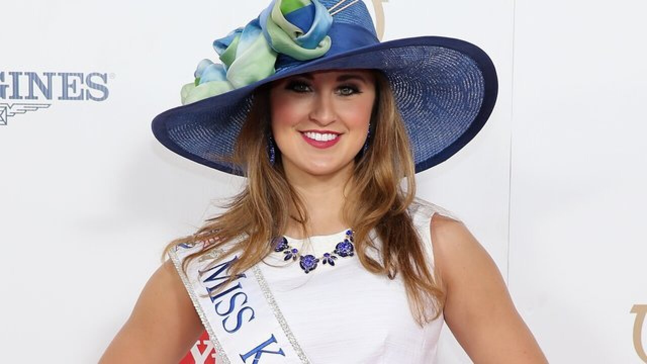 Ex-Miss Kentucky charged with sending nude photos to