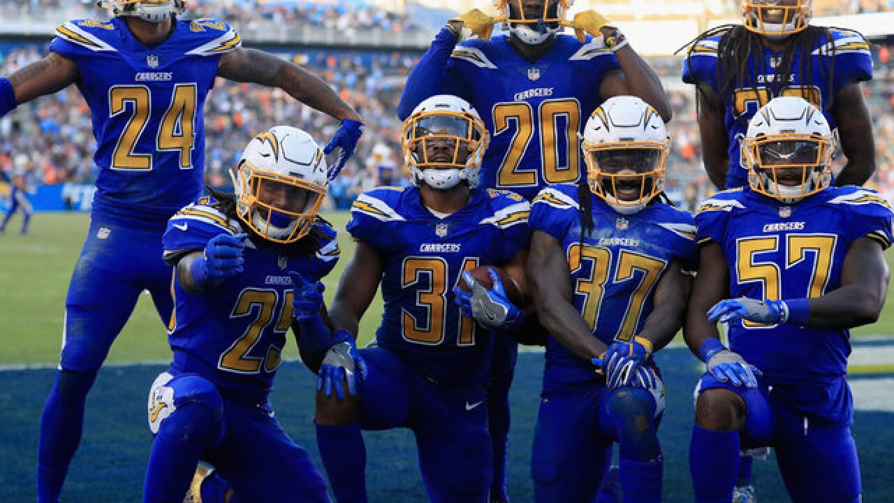 Chargers beat Browns to pull into three-way tie atop AFC West
