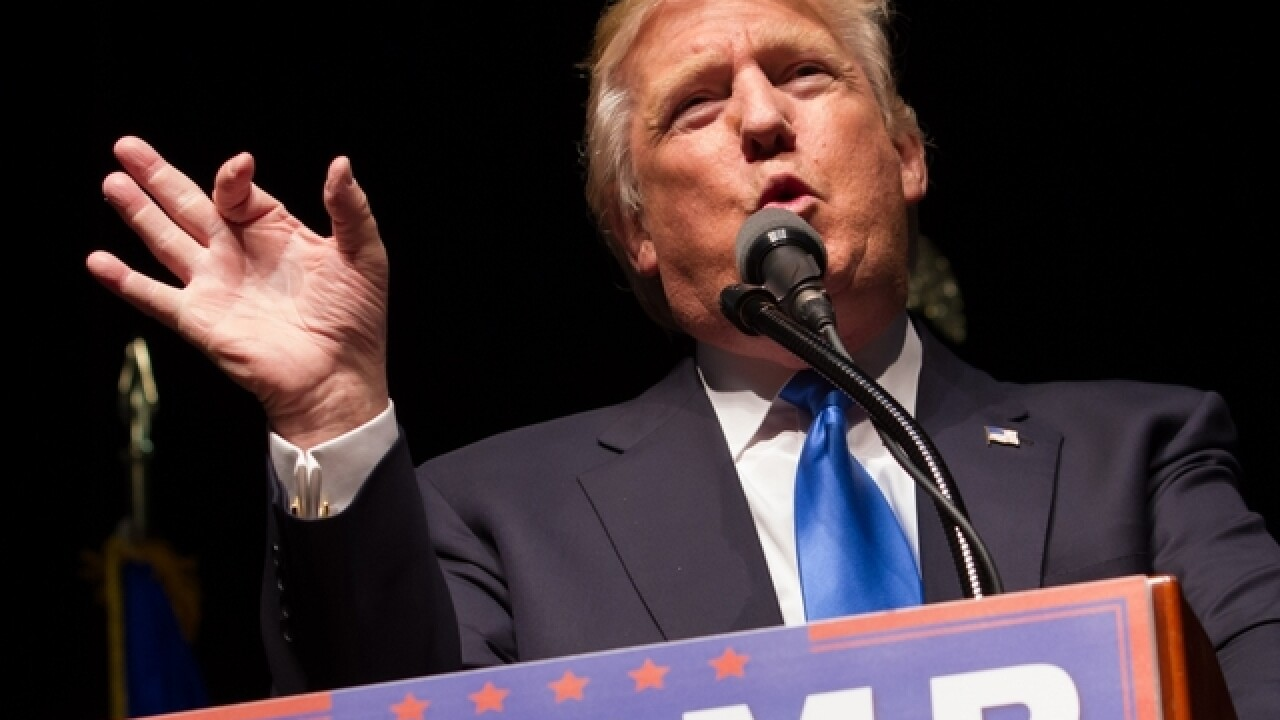 Trump takes clean sweep of NE Super Tuesday