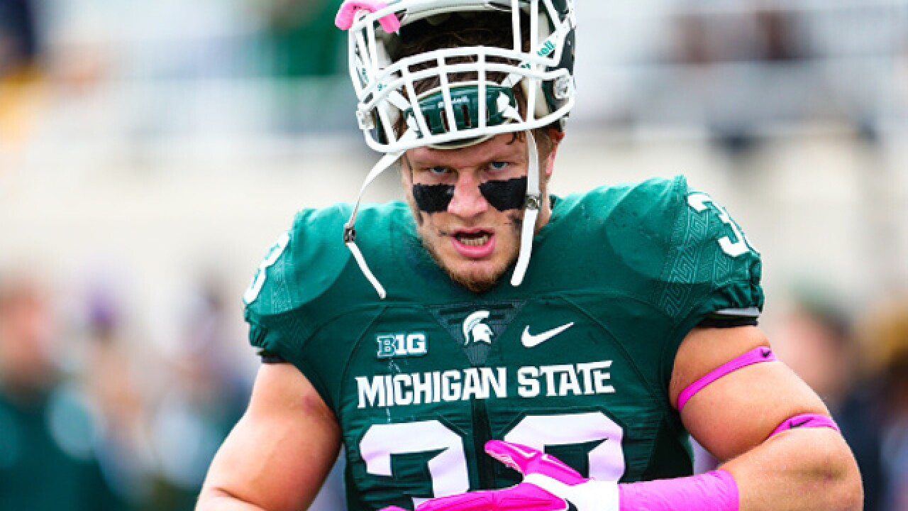 Jon Reschke back on Michigan State roster for now