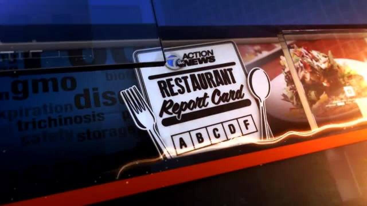 Restaurant Report Card: Warren Edition