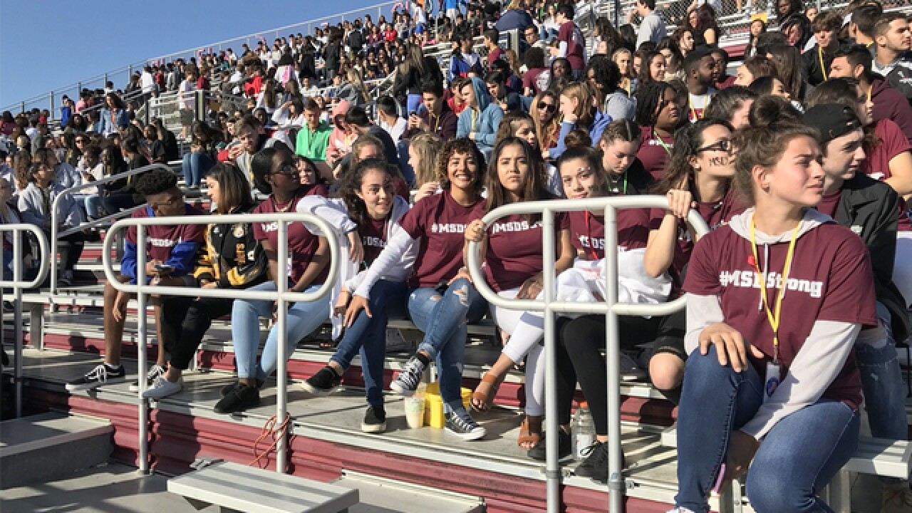 Students take part in school walkouts across US
