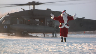 Operation Santa Claus: National Guard continues tradition of flying Santa to small Alaskan villages