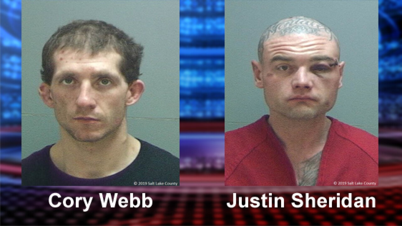 Two armed suspects arrested for allegedly carjacking elderly couple and fleeing frompolice
