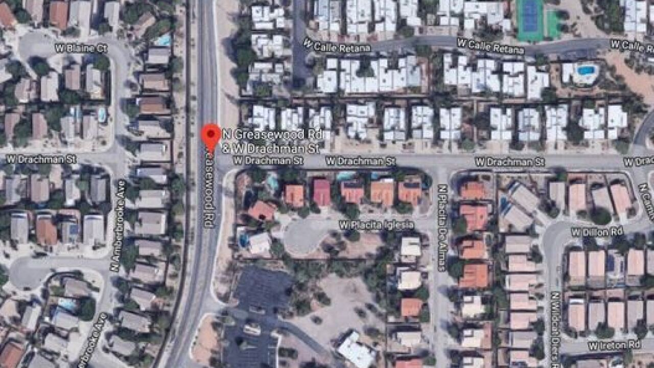 TPD: Vehicle collision closes road