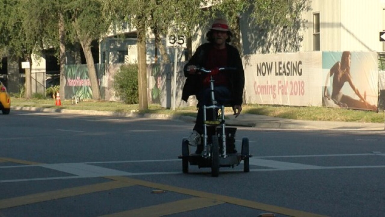 Seniors afraid to cross busy Downtown Tampa road