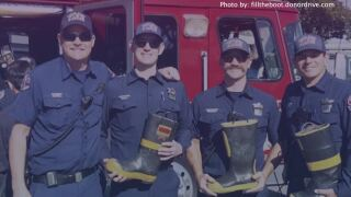 Fire Fighter Fill The Boot fundraiser goes virtual this year