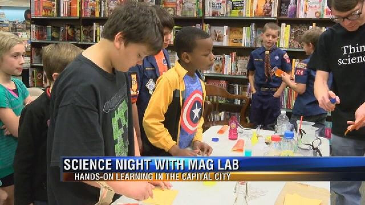 Mag Lab Hosts Hands On Learning Event for Children