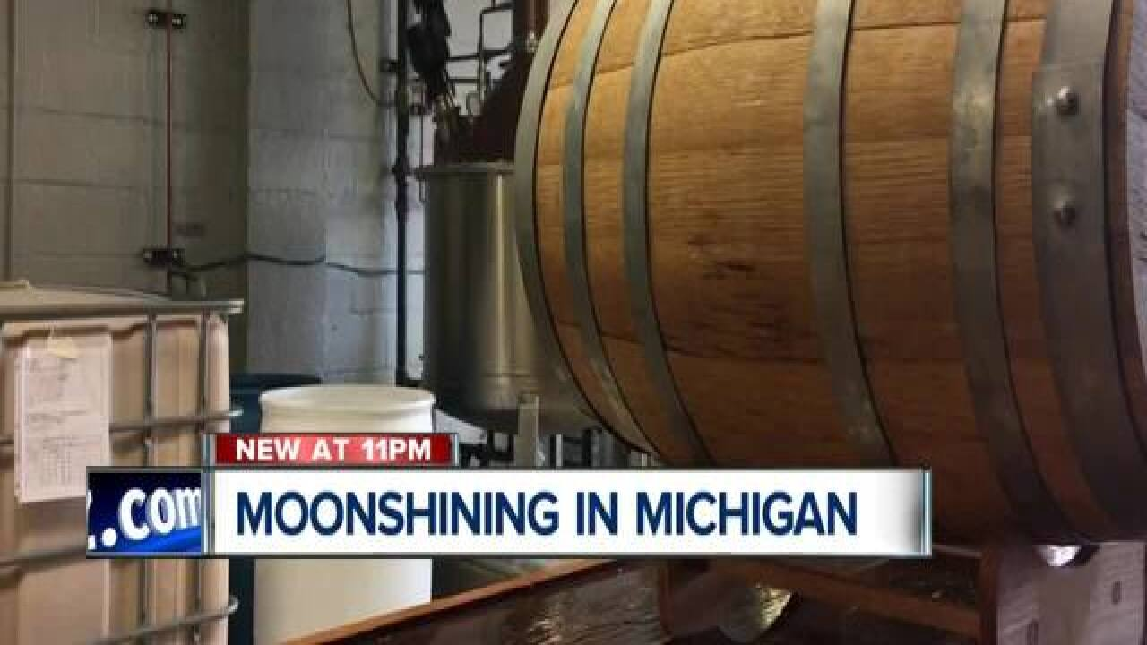 Banned Booze: A look at moonshining in Michigan and the effort to