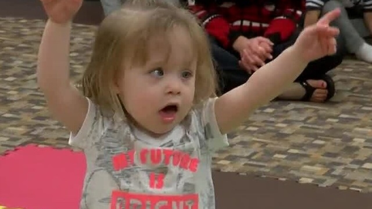 How a music class helps a toddler with cancer