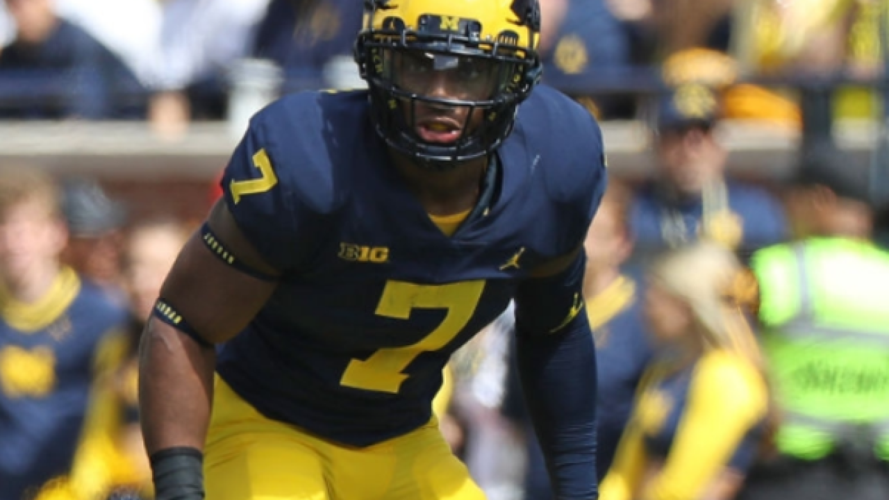 Michigan WR Tarik Black out indefinitely with foot injury