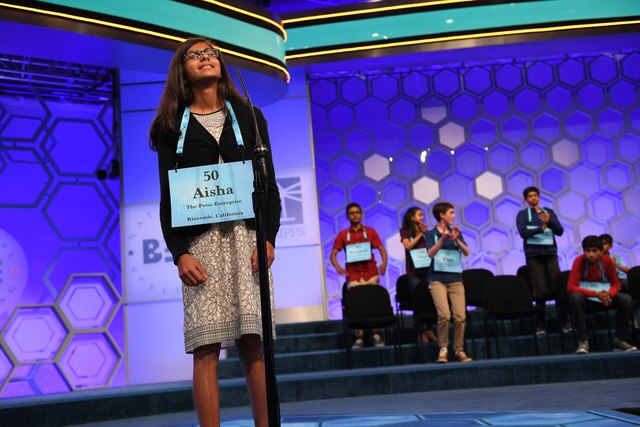 The finals of the 2018 Scripps Spelling Bee