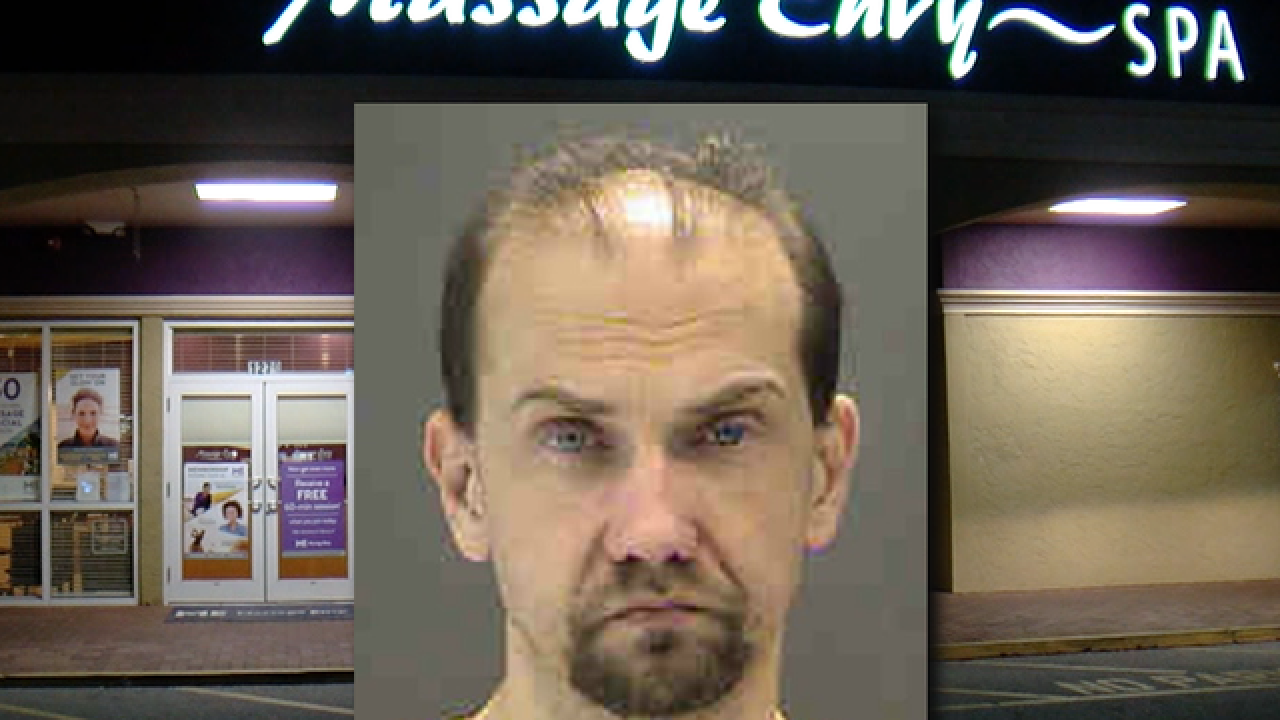 Massage Envy employee charged with battery