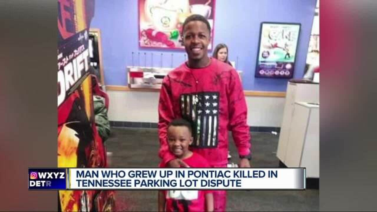 Pontiac native killed over parking dispute in TN