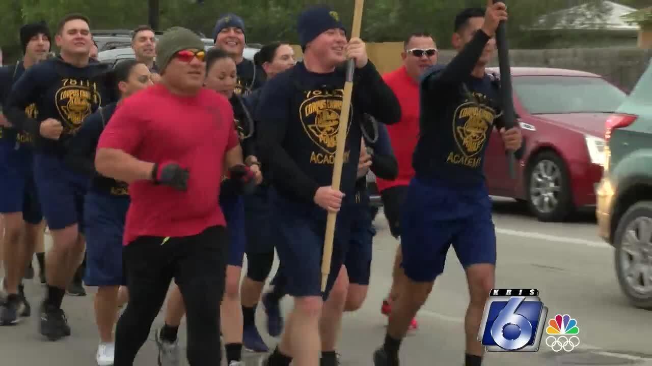 Police cadets training run