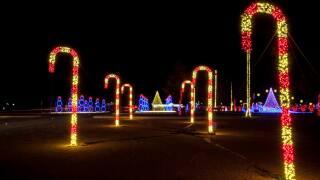 6th Season of Illuminate Light Show & Santa'sVillage